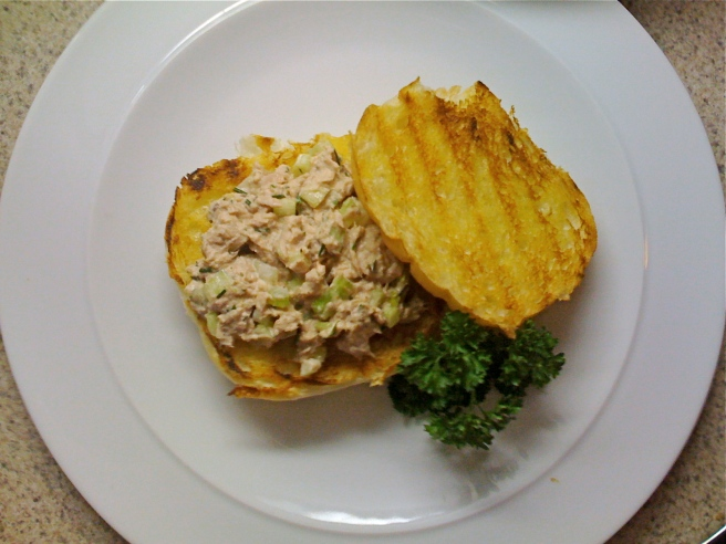 Tuna Salad with Fresh Chives and Dill